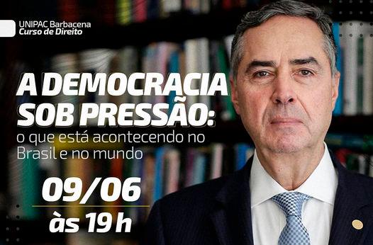 Palestra: A Democracia sob pressão: o que está acontecendo no Brasil e no mundo