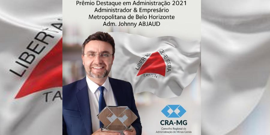 Professor da FUMEC recebe Prêmio Destaque em Administração - CRA-MG 2021